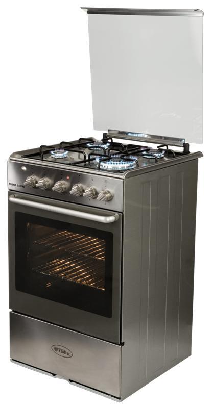 Cocina trend g4 pro gas licuado for Cocina gas profesional