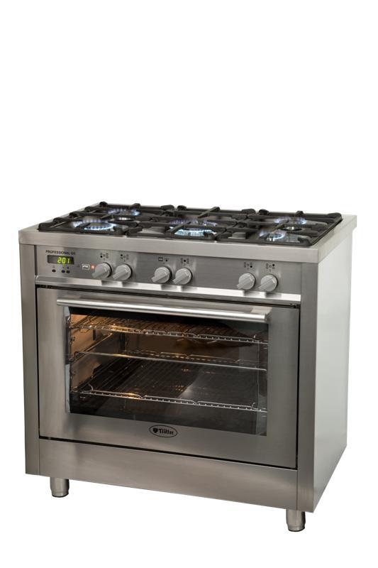 Cocina at 5p professional gas licuado for Cocina gas profesional