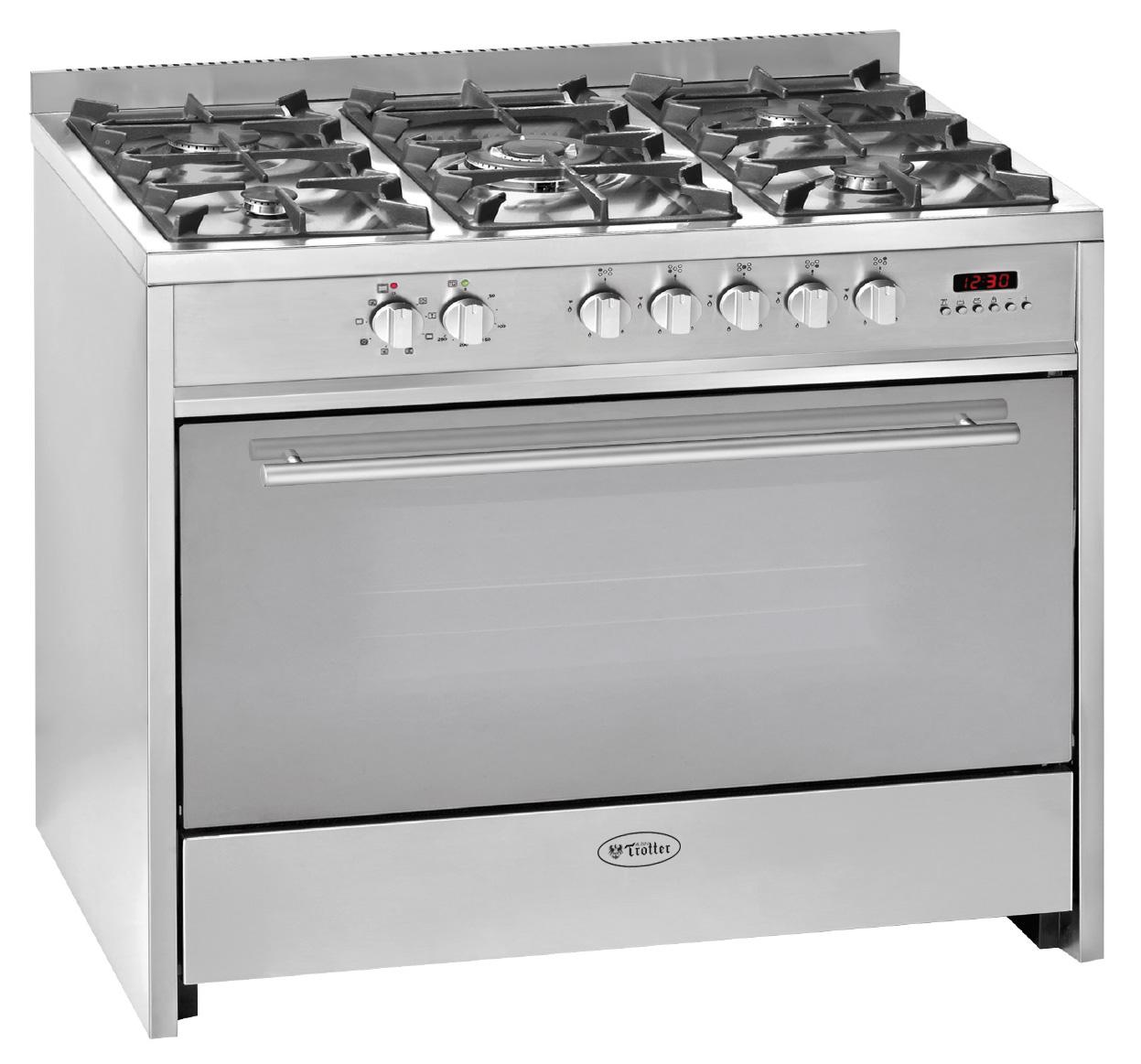 Cocina professional n 16 gas licuado for Cocina gas profesional